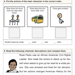 SES Weekly Reading-Rosa Parks Day