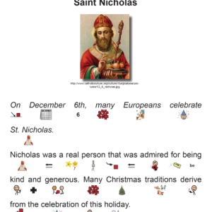 SES Weekly Reading-St. Nicholas